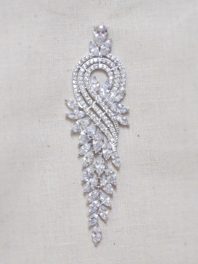 John-Zimmerman-Couture-Earrings-Model-Cornucopea-Gallery-Image-1